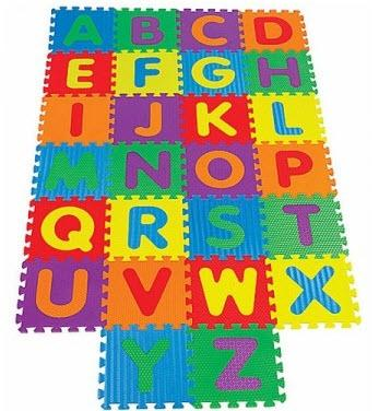 Alphabet Block Toy Letters And Numbers Thai Or English