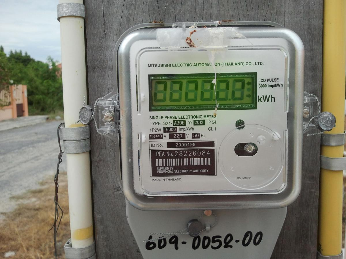 Bypass New Electrical Digital Meters : New electric meter electronic digital the electrical