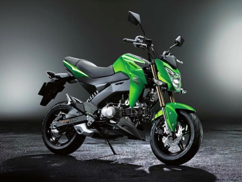 A Competitor For The Honda Msx 125 Kawasaki Z 125 Motorcycles In Thailand Thailand Visa