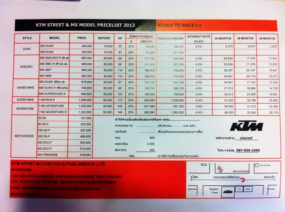 Ktm Philippines Motorcycles Price List Motorcycle Review