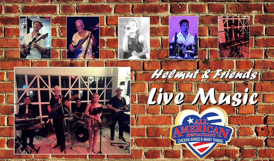 Best of music live band at the all american restaurant for American cuisine topic