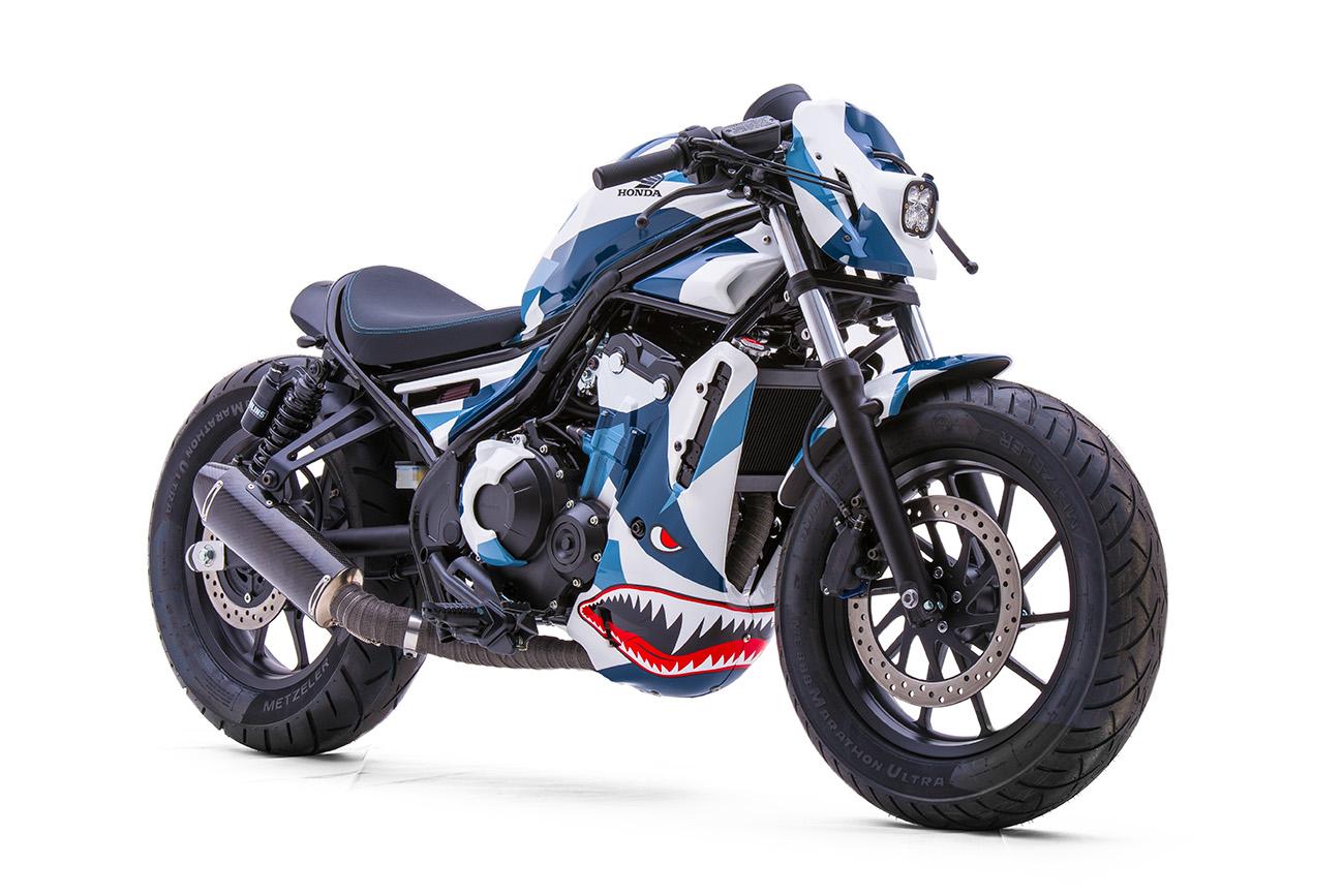 New Honda Rebel 300 & 500 - Motorcycles in Thailand ...