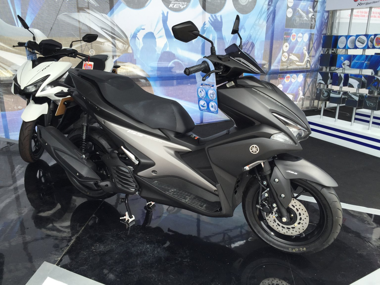 Yamaha aerox 155 now available nvx in vietnam nouvo for Yamaha motorcycles thailand prices