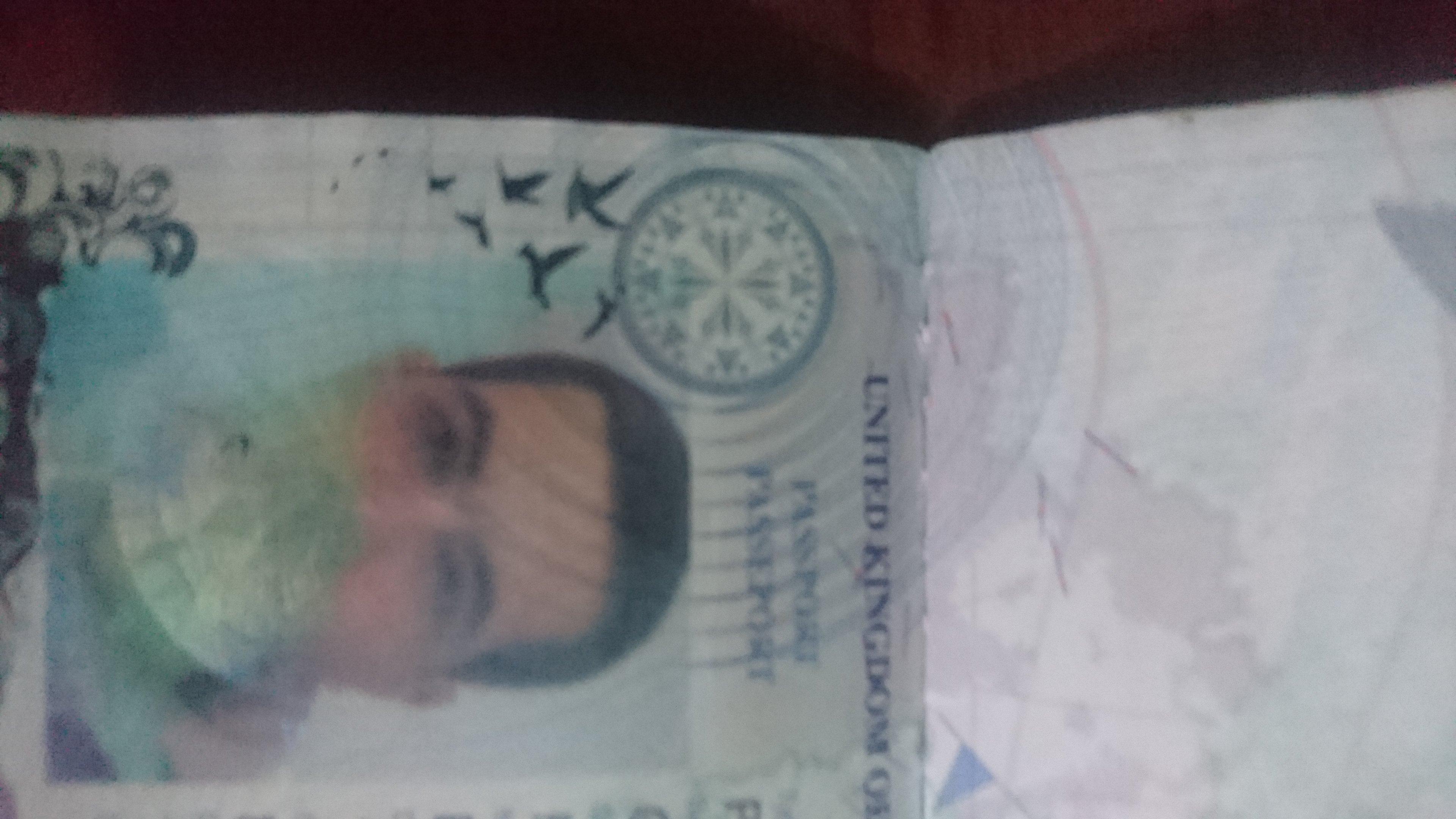 Damaged Photo In Passport Thai Visas Residency And Work