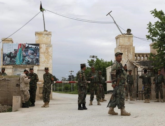 US military says Taliban attack on Afghan base killed dozens