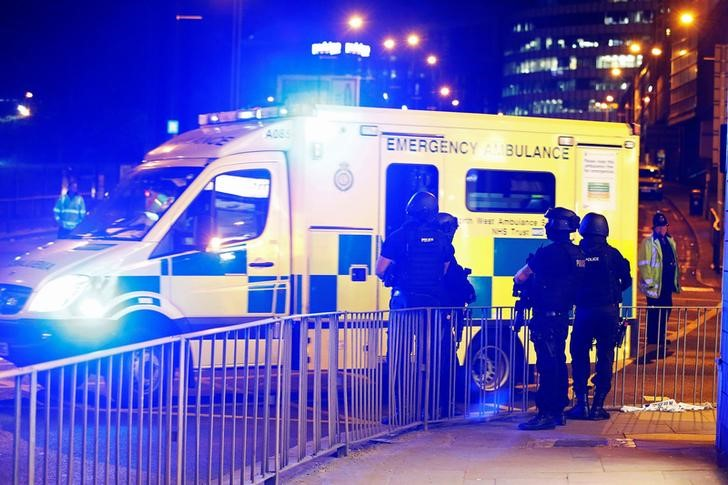Manchester United and City 'shocked and saddened' by 'terrorist' bomb blast