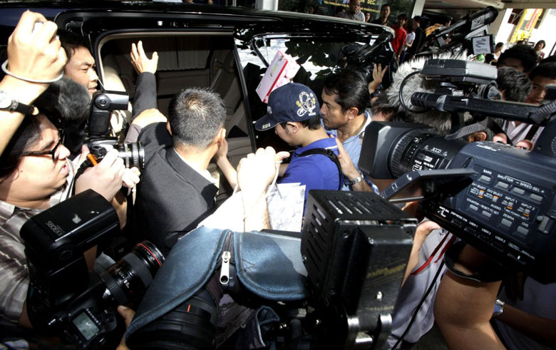 Thai gov't revokes passport of fugitive Red Bull heir