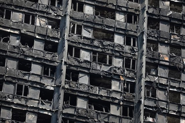 British govt says 27 apartment blocks fail fire safety tests