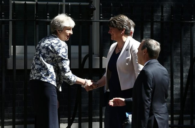 Theresa May Strikes Billion Dollar Deal To Remain In Power