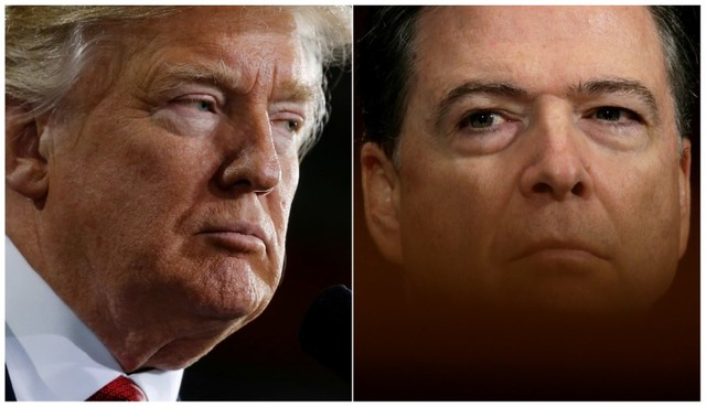 President Trump Denies Recording Meetings with Comey
