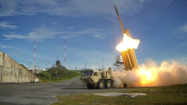 U.S. plans to test THAAD missile defenses