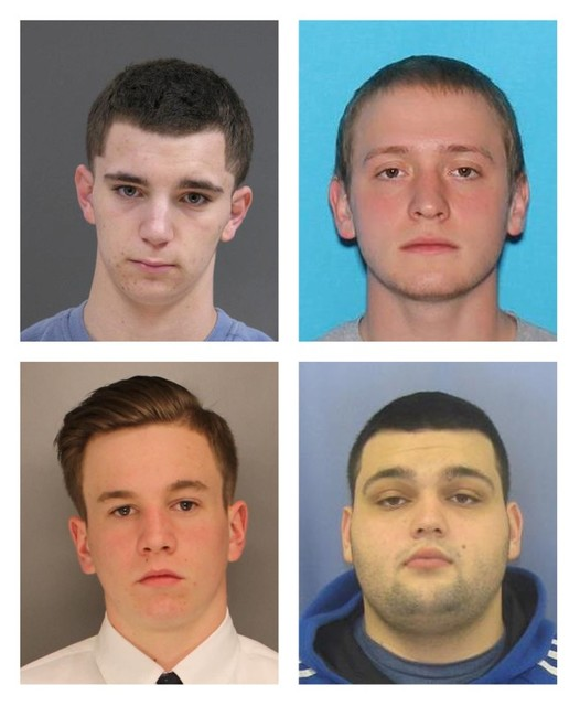 Evidence found in search for four missing men in PA