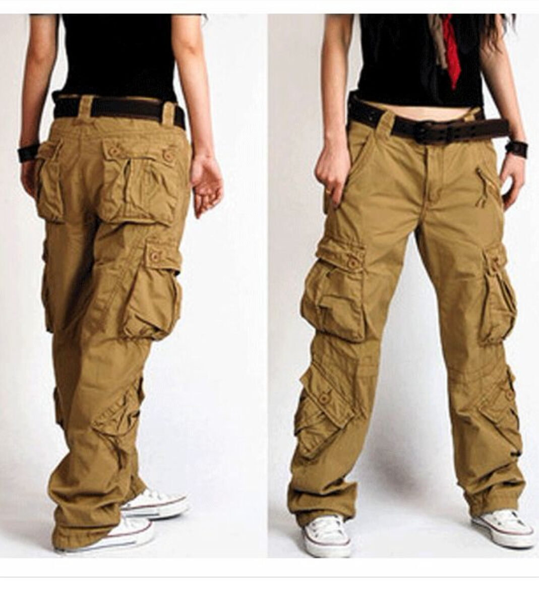 Cargo pants for girls fashion 95