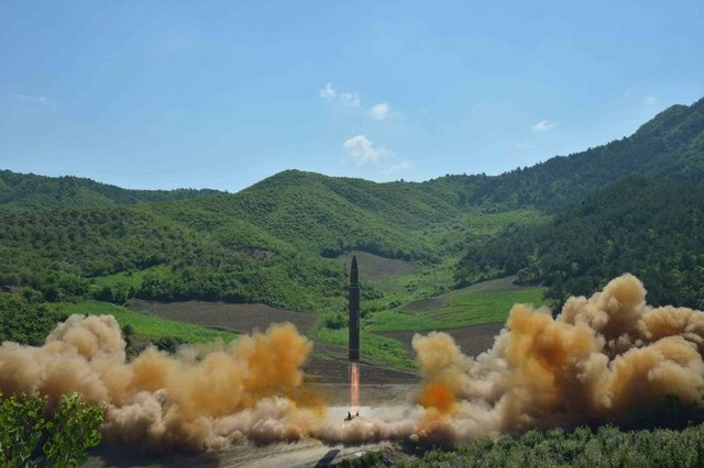 North Korea fires missile; it may have landed off Japan