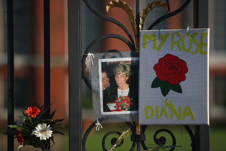Tributes to Princess Diana 20 years after her death