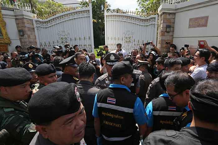 Thai police seeking to revoke Yingluck's passports, confirm her location