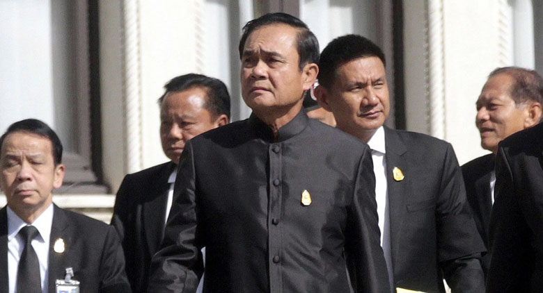 Ex-Thai PM sentenced to 5 years in prison