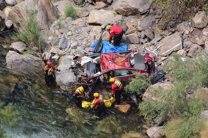 Auto 'with Thai bodies' pulled from California river