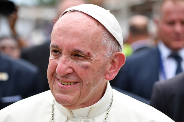 Pope Francis: 'Reconciliation is not an abstract word'