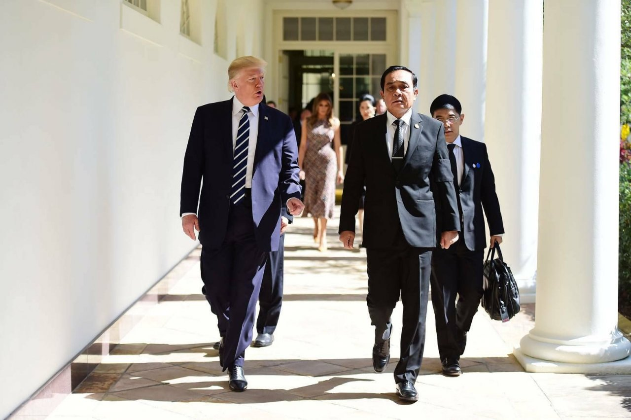 Trump says wants to reduce United States trade deficit with Thailand