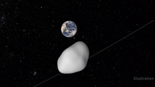 NASA says asteroid passed near Earth