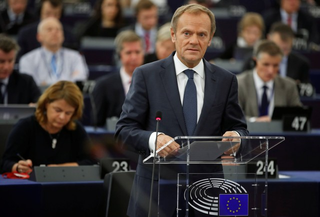 EU's Tusk in trouble in Poland