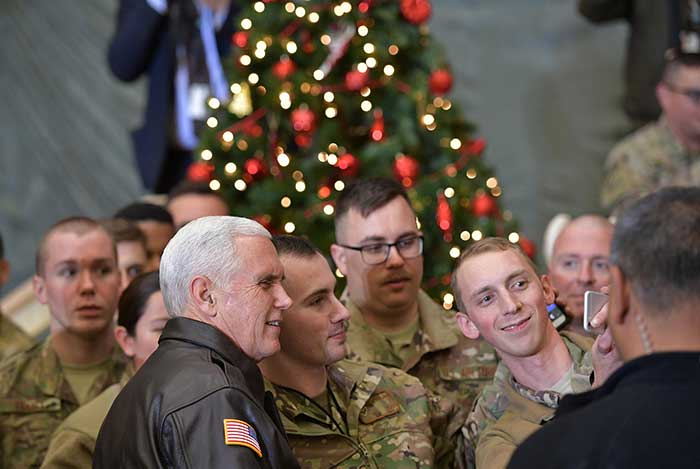 United States vice president makes unannounced Afghanistan visit