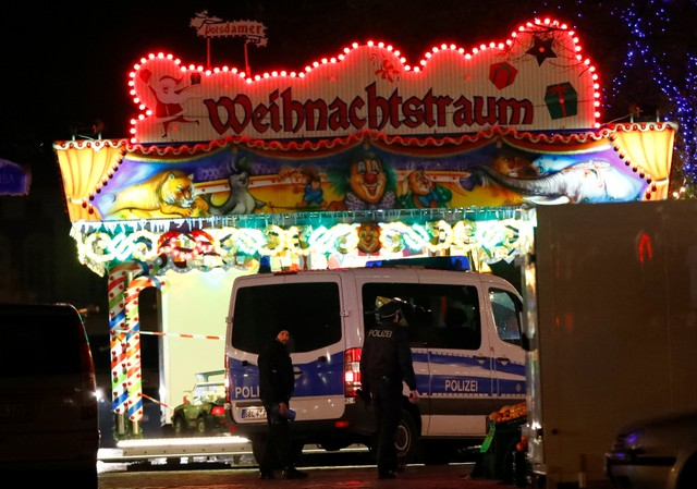 Explosives found in package near German Christmas market