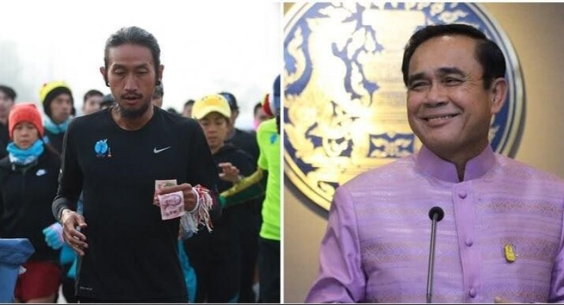 Toon to finish epic charity run in Mae Sai on Monday