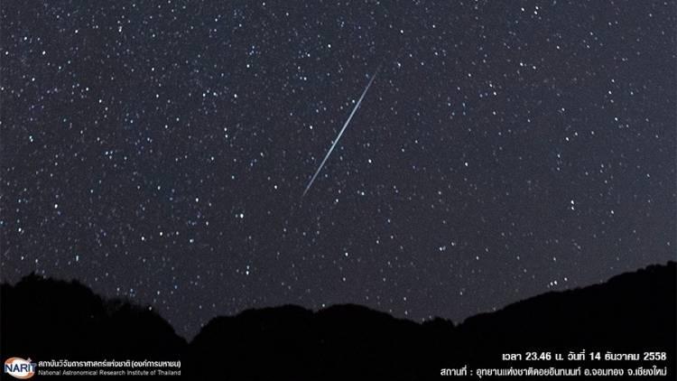 Look up! The Geminid Meteor Shower peaks this week
