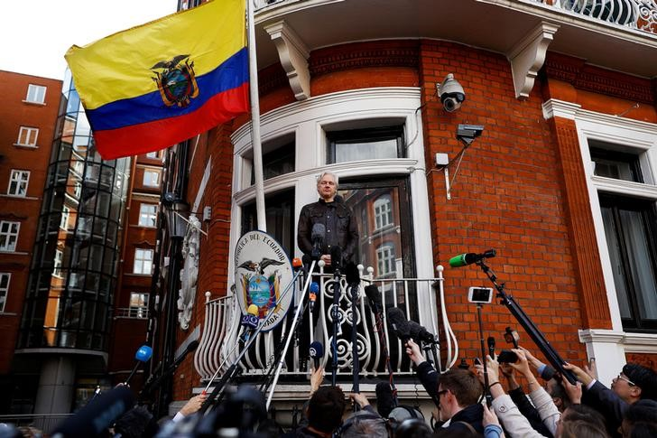 Ecuador Grants Citizenship To Julian Assange, Who Lives In London Embassy
