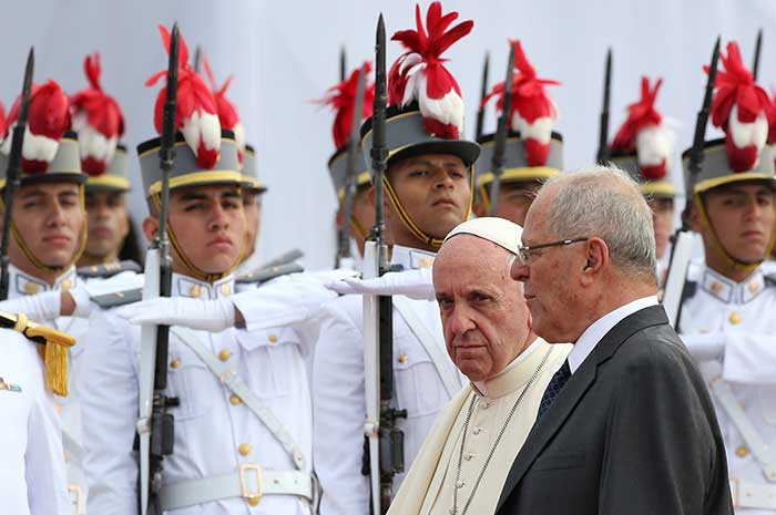 Pope Francis Marries Couple on Papal Flight