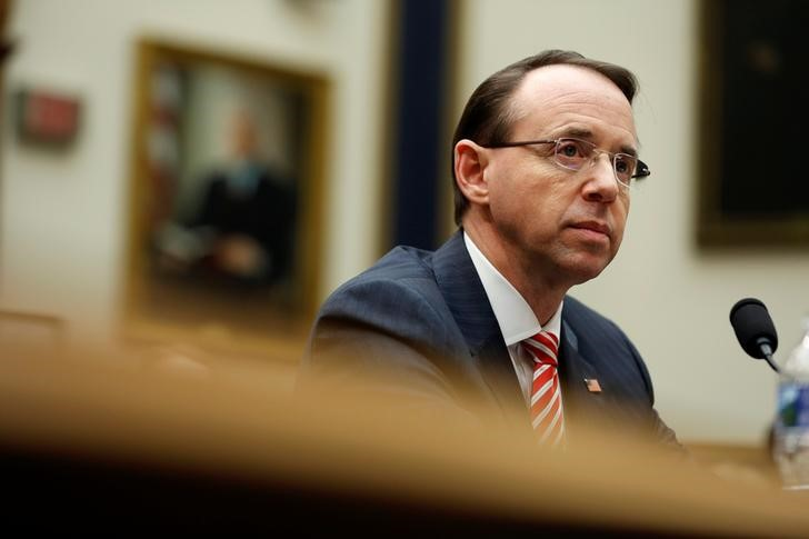 Secret memo hints at a new Republican target: Rod Rosenstein