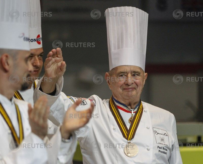 Bocuse, 'pope of French cuisine', dies at 91