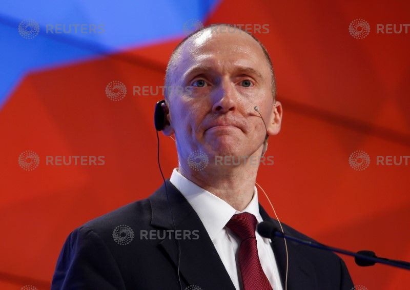 Carter Page says he's never met Trump