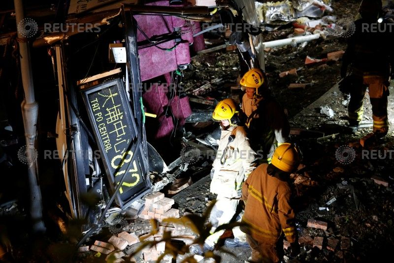 At least 18 dead in bus crash in Hong Kong