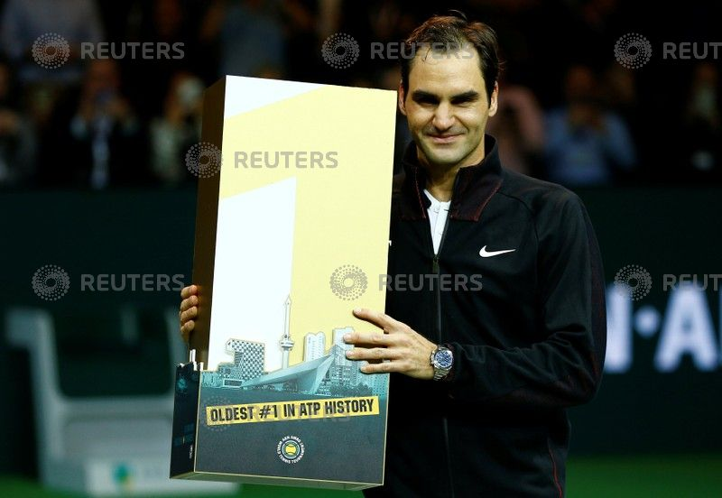 Records tumble in Federer's latest remarkable ascent to the top