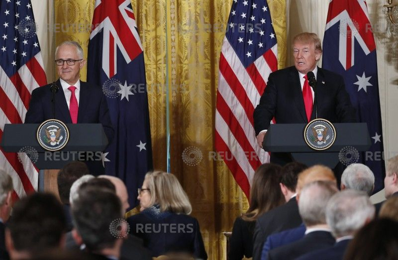 Turnbull in DC, declines to support Joyce