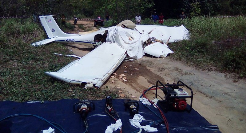 Phuket Plane Crash Kills 2