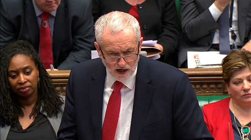 May dodges Corbyn's Skripal questions, slams Labour leader for not blaming Russian Federation