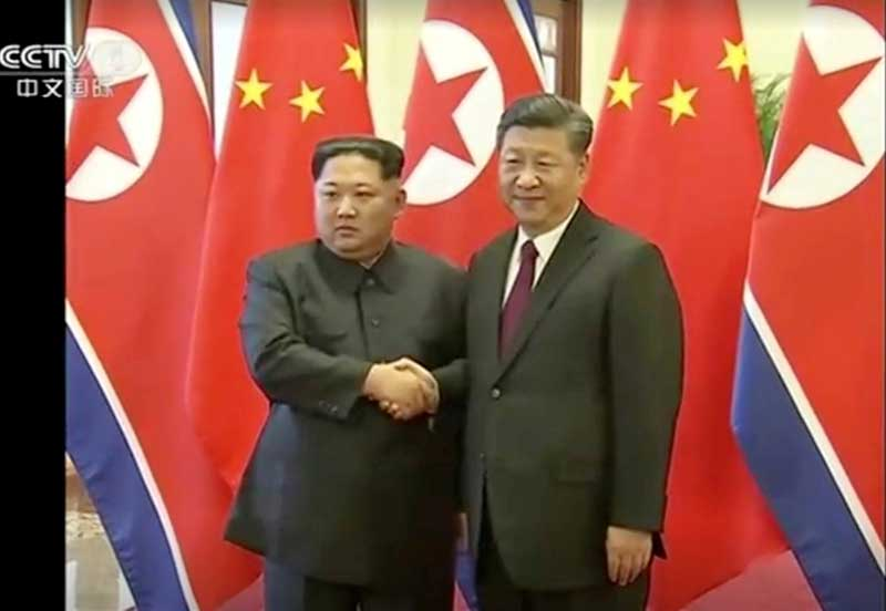 China's VIP security raises speculation of Kim Jong Un visit