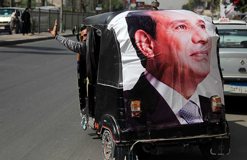 Egypt's Sisi re-elected with almost 92% of votes