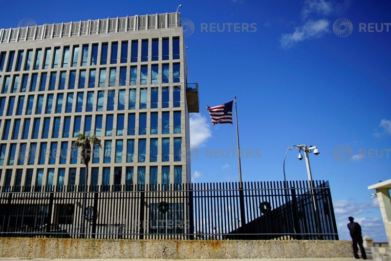 US Cutting Staff at Embassy in Cuba