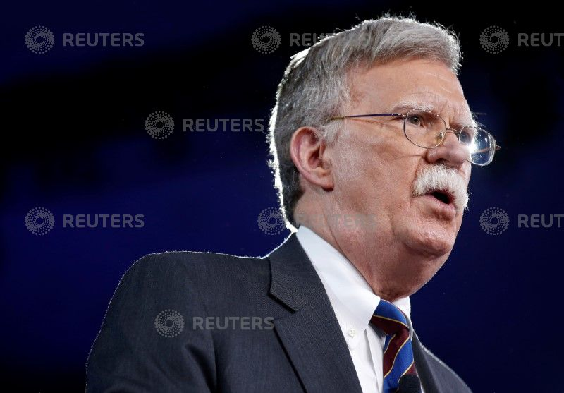 With John Bolton in the White House, moderation takes a holiday