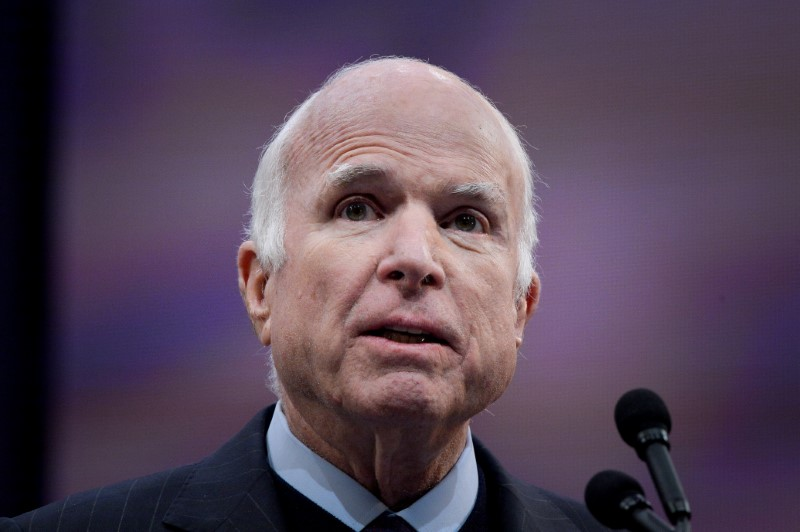McCain chides Trump for undermining US values in new memoir