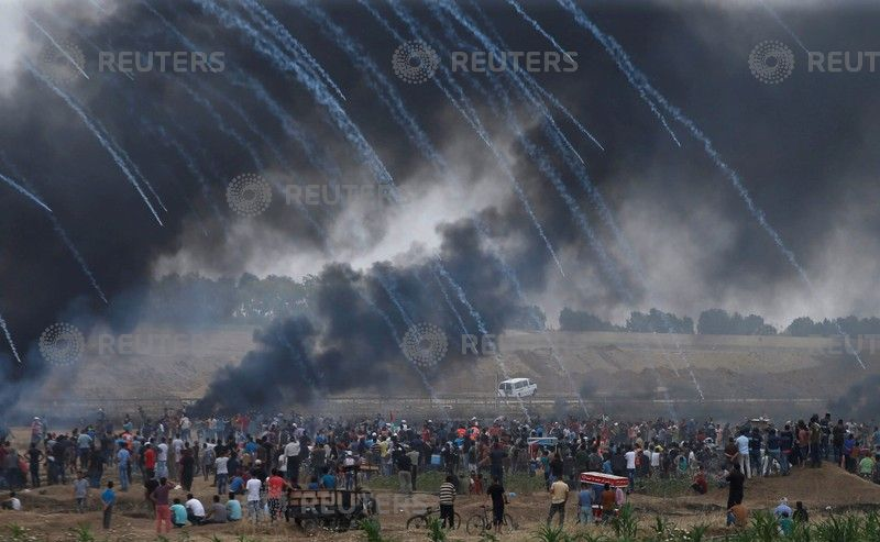 Three Journalists among Civilians Injured by Israeli Forces in Gaza