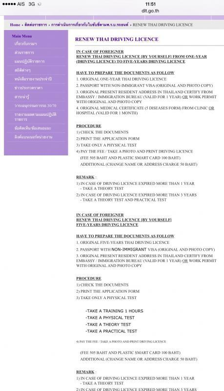 Where to renew thai driving licence 5yrs with elite visa ? - Page 2
