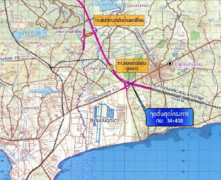 Utapao Afb Thailand Map.U Tapao To Become Bangkok S 3rd Commercial Airport Thailand News