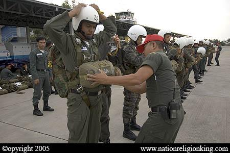 What's with the Aviator Wings on the Thai Police Uniforms? - Farang