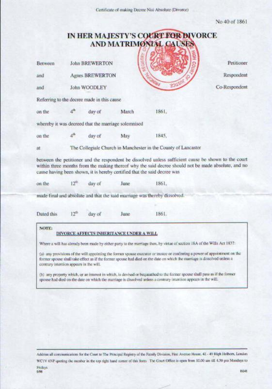 Decree Absolute Uk Marriage And Divorce Thailand Visa Forum By